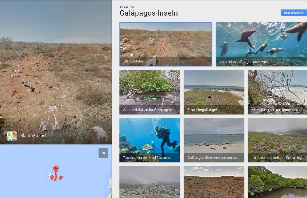 Galapagos Inseln Streetview