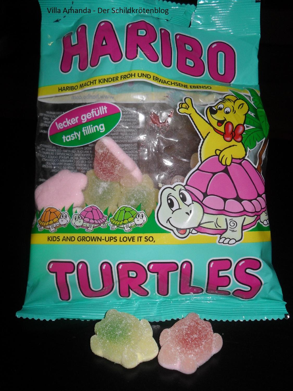 Haribo essbare Schildkröten