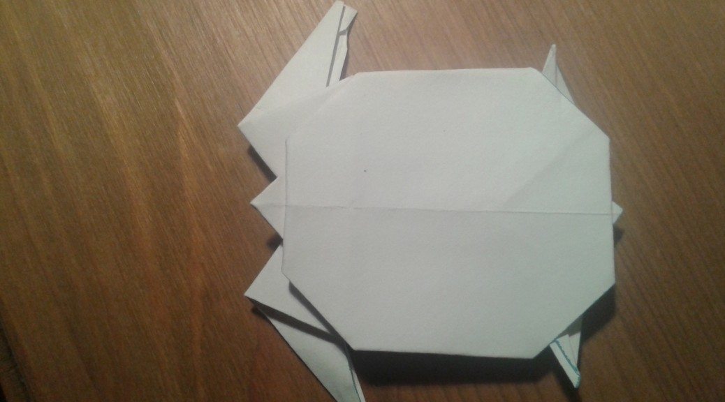 Origami Schildkröte